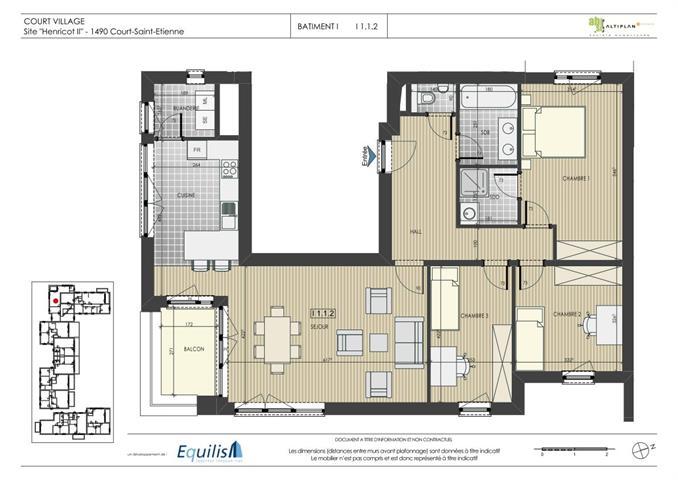 Appartement - Court-Saint-Etienne - #2085360-0