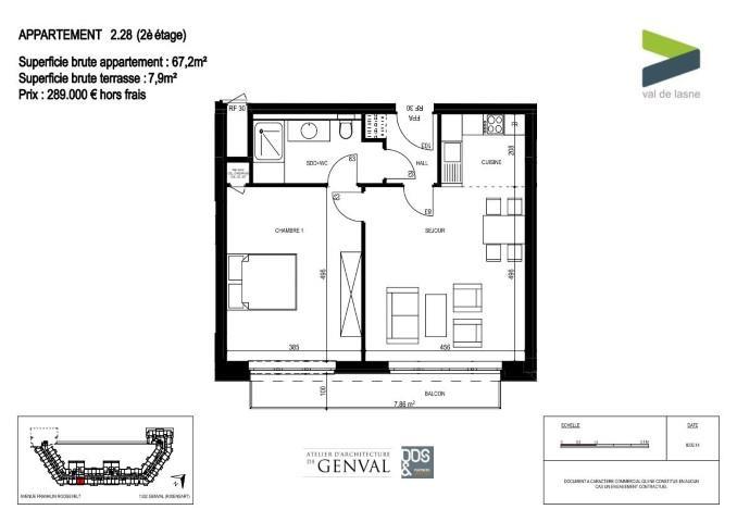 Appartement - Genval - #2285413-14