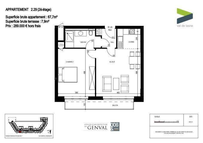 Appartement - Genval - #2285414-8
