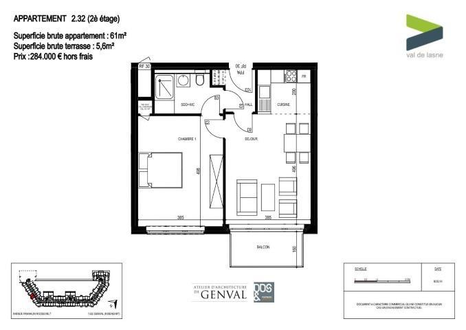 Appartement - Genval - #2285417-11