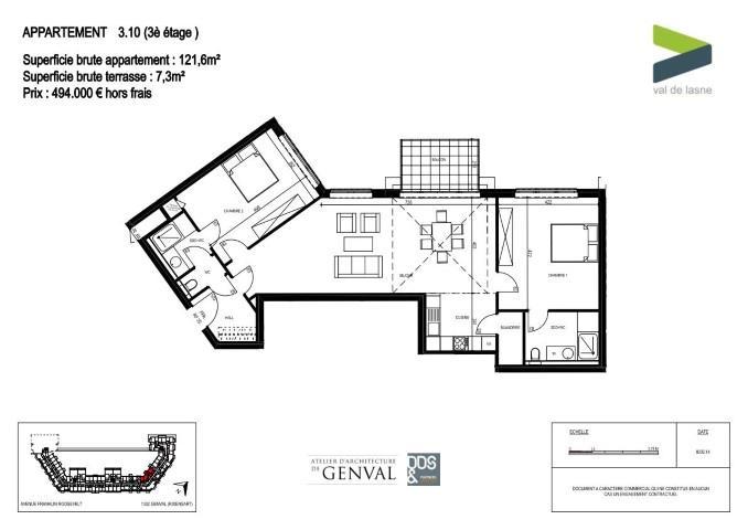Appartement - Genval - #2285426-8