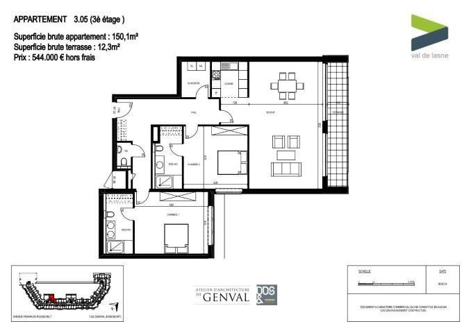 Appartement - Genval - #2285440-11