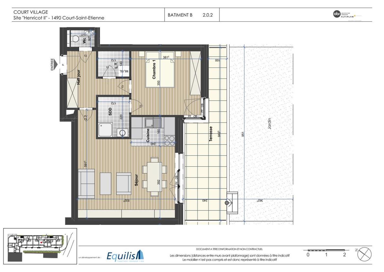 Appartement - Court-Saint-Etienne - #3171669-4