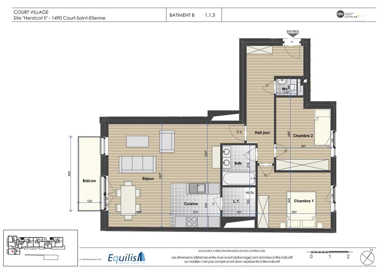 Appartement - Court-Saint-Etienne - #3171754-5