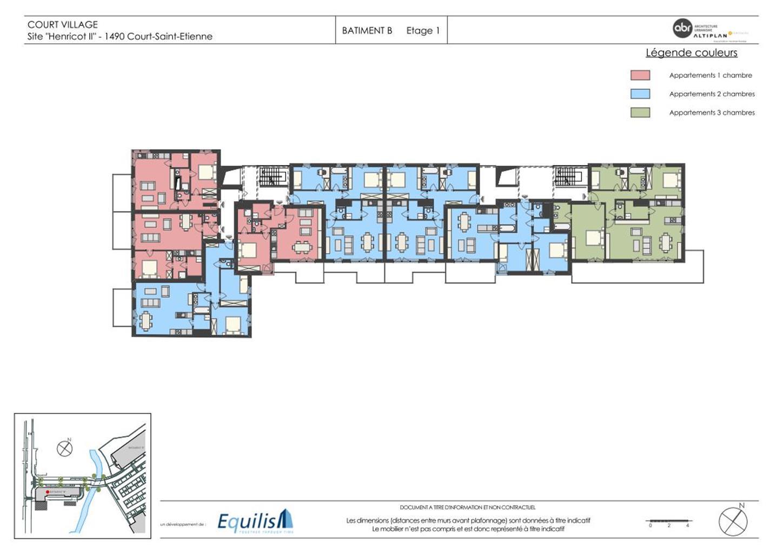Appartement - Court-Saint-Etienne - #3171754-6