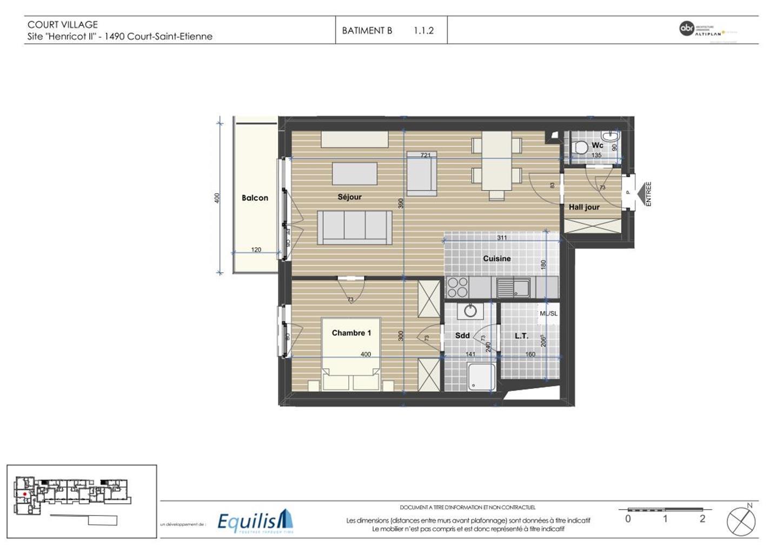 Appartement - Court-Saint-Etienne - #3171759-4