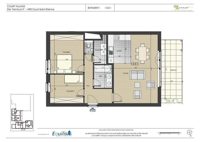 Appartement - Court-St.-Etienne - #3468367-4