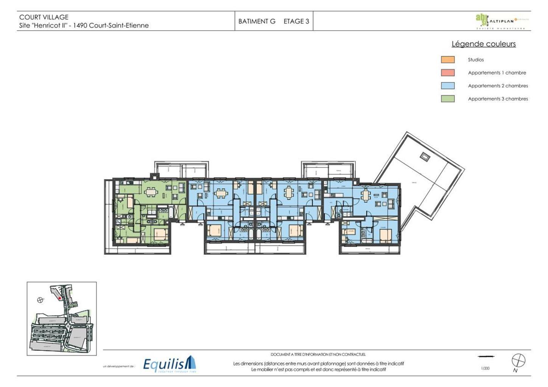 Appartement - Court-St.-Etienne - #3468385-4