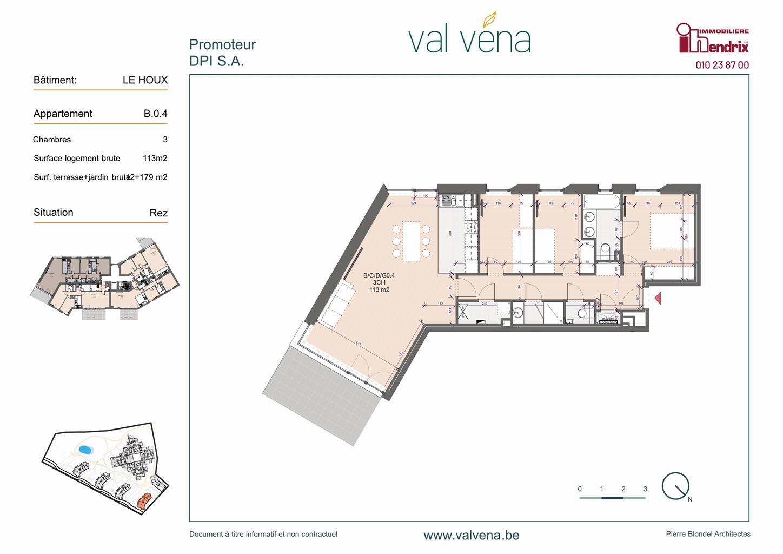 Appartement - Wavre - #3746609-0