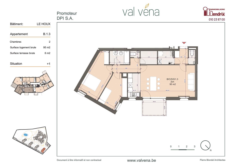 Appartement - Wavre - #3756299-0