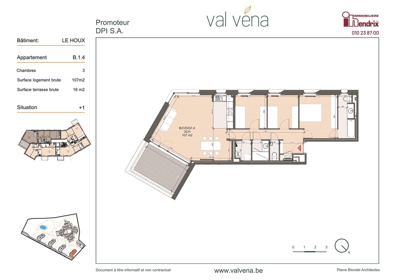 Appartement - Wavre - #3756310-0