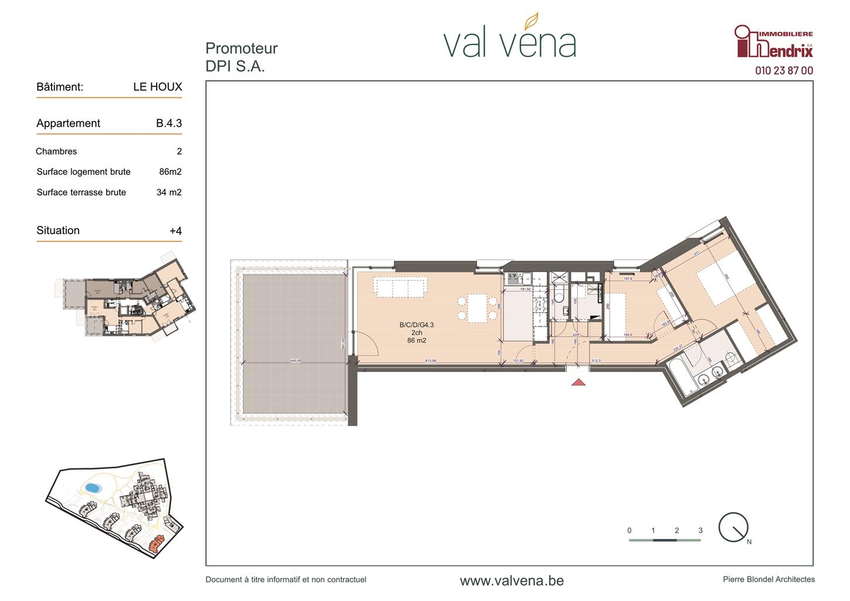 Appartement - Wavre - #3756347-0