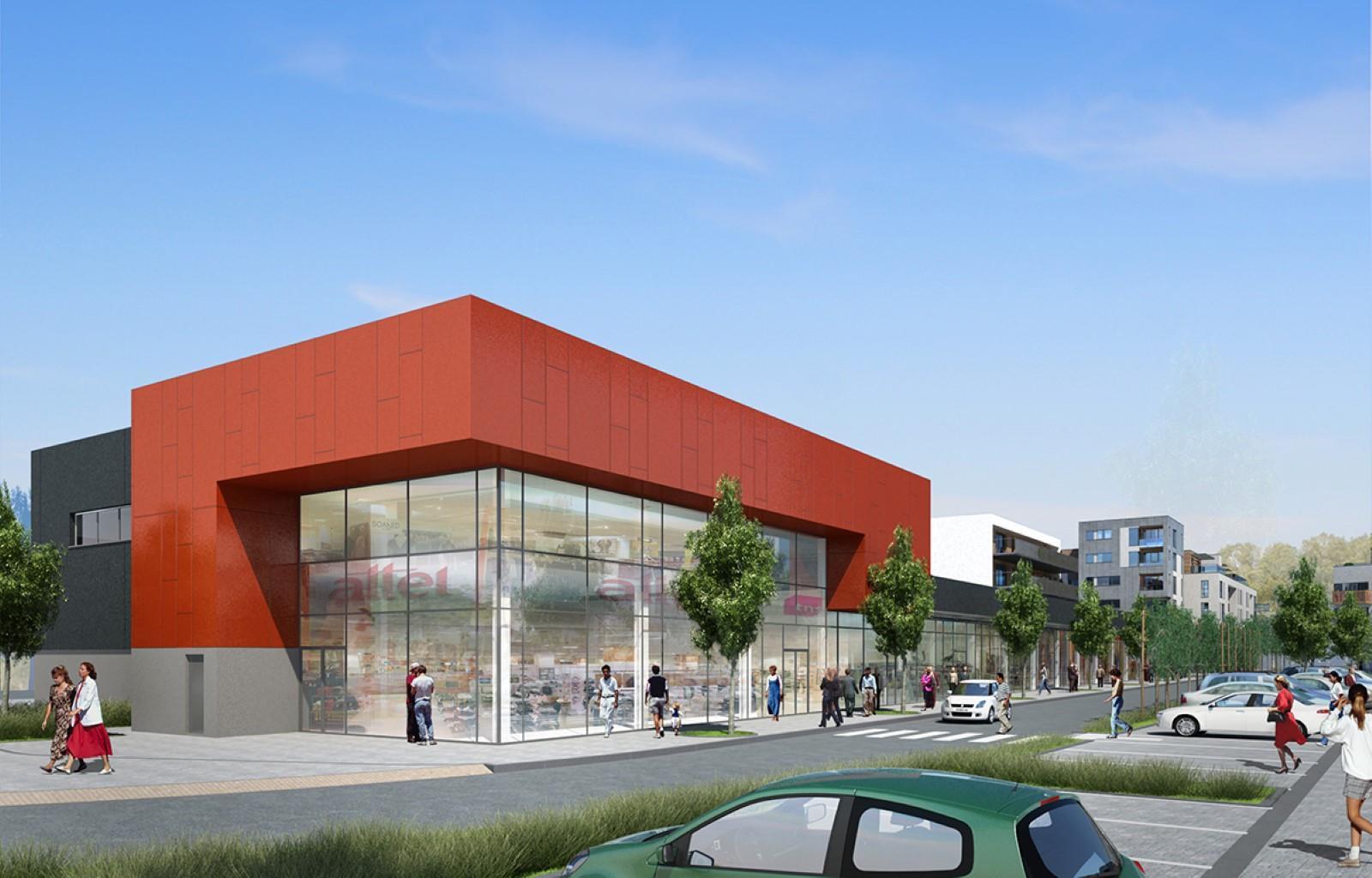 Centre commercial - Court-St.-Etienne - #3919389-8